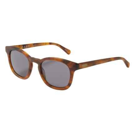 RAEN Suko Wayfarer Sunglasses in Matte Rootbeer/Smoke - Closeouts
