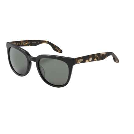 RAEN Vista Sunglasses in Matte Brindle/Matte Black - Closeouts