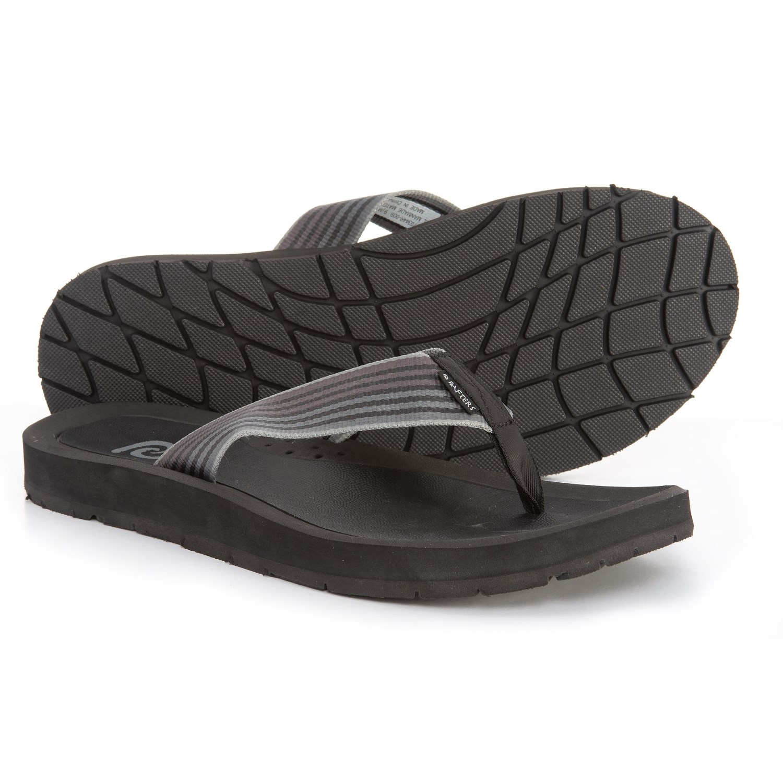 a2627605f Rafters island stripe flip flops for men in black multi jpg 1500x1500 Rafters  flip flops women