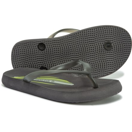 f852939a1c461a Rafters Waikiki Surf Flip-Flops (For Girls) in Grey - Closeouts