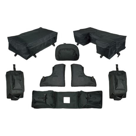 Raider 8-Piece ATV Luggage Kit in See Photo