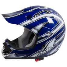 Raider MX-3 Helmet (For Youth) in Blue - Closeouts
