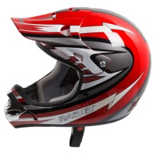 Raider MX-3 Helmet in Red - Closeouts