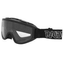 Raider MX Goggles in Black - Closeouts