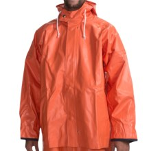 Rain Parka - Waterproof (For Men) in Orange - Closeouts