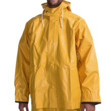 Rain Parka - Waterproof (For Men) in Yellow - Closeouts
