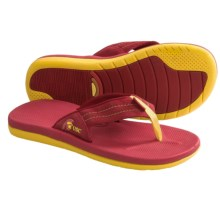 Rainbow Sandals College Rubber Flip-Flops (For Men) in University Of Southern California - Closeouts