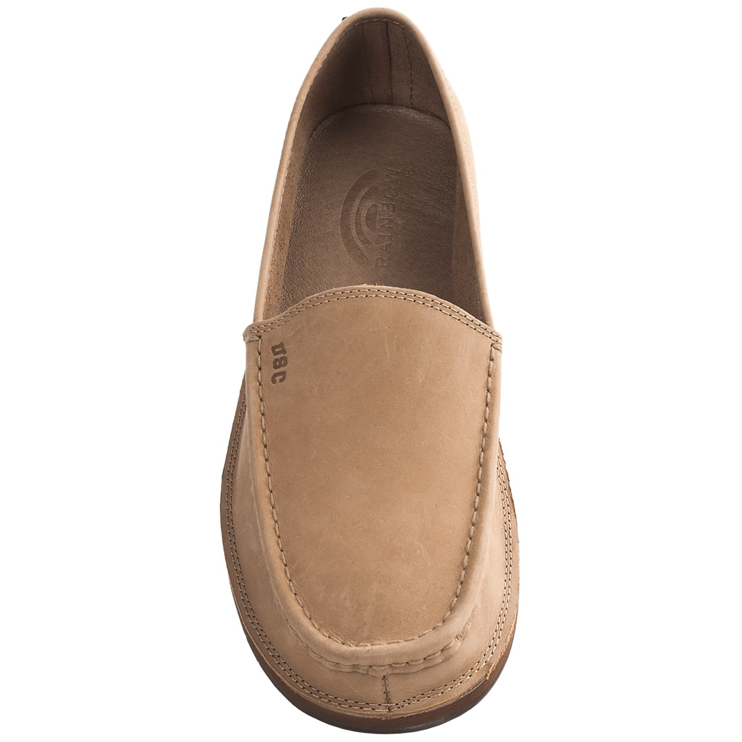 rainbow sandals comfort classic college logo loafer shoes