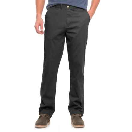 Rainforest Chino Pants (For Men) in Black - Closeouts