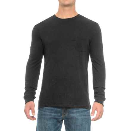 Rainforest Heather Pocket Shirt - Long Sleeve (For Men) in Black - Closeouts