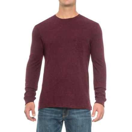 Rainforest Heather Pocket Shirt - Long Sleeve (For Men) in Burgundy Heather - Closeouts