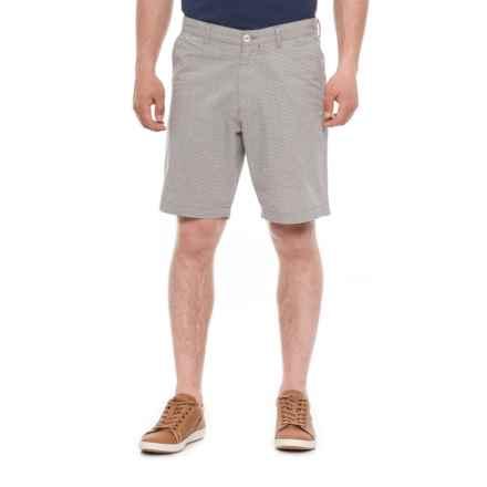 Rainforest Horizontal Stripe Shorts (For Men) in Black/White - Closeouts