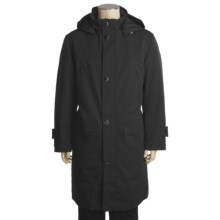 Rainforest Melange Coat - Waterproof, Zip-Out Down Liner (For Men) in Charcoal - Closeouts
