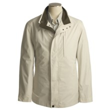 Rainforest Micro-Breathable Weathertamer Jacket  - Windproof (For Men) in Smoke - Closeouts
