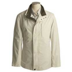 Rainforest Micro-Breathable Weathertamer Jacket  - Windproof (For Men) in Smoke