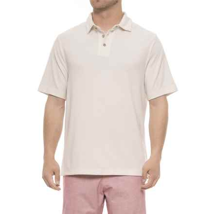 cc56bc224a2 ... clearance rainforest modal polo shirt short sleeve for men in whisper  white closeouts d44dd 7f26c