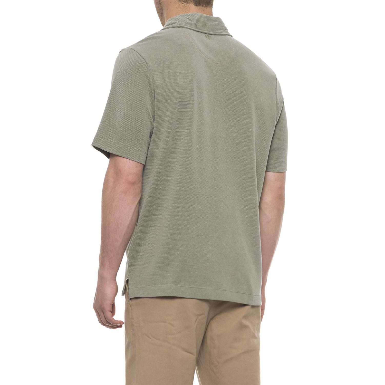 ab9841e1d65 Rainforest Modal Polo Shirt - Short Sleeve (For Men)