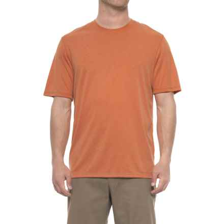 Rainforest Modal T-Shirt - Short Sleeve (For Men) in Burnt Orange - Closeouts