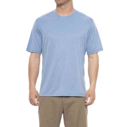 Rainforest Modal T-Shirt - Short Sleeve (For Men) in Surf Blue - Closeouts