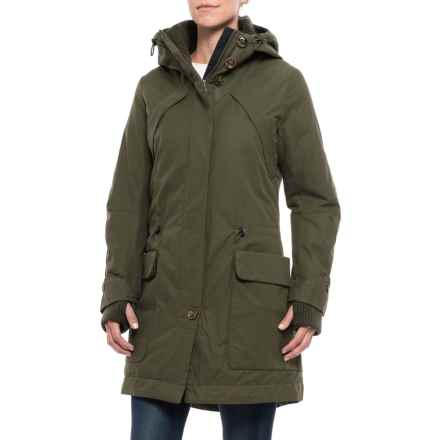 Rainforest Polyfill Parka - Insulated (For Women) in Olive - Closeouts