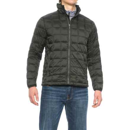 Rainforest Quilted Down Coat (For Men) in Kale - Closeouts