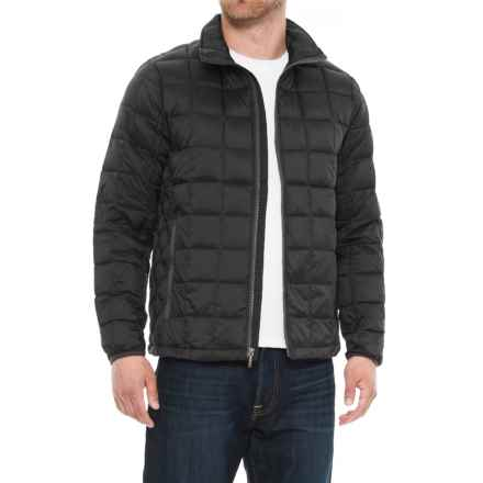 Rainforest Quilted Graphite Down Jacket (For Men) in Graphite - Closeouts
