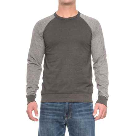 Rainforest Raglan Color-Block Shirt - Long Sleeve (For Men) in Heather Grey/Charcoal Heather - Closeouts