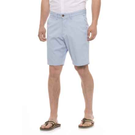 Rainforest Textured Shorts (For Men) in Cashmere Blue - Closeouts