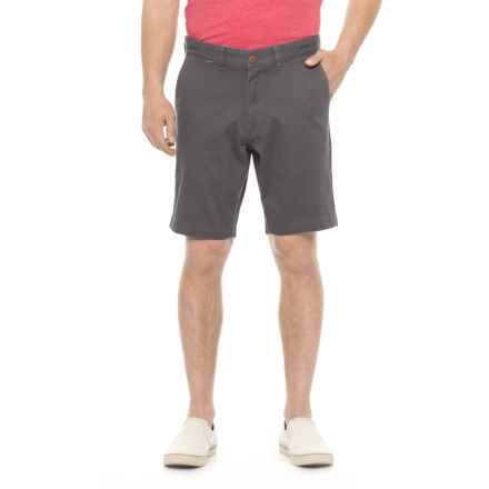 Rainforest Textured Shorts (For Men) in Graphite - Closeouts