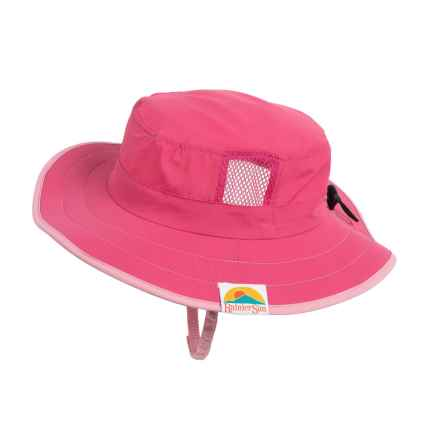Rainier Sun Cricket Sun Hat - UPF 50+ (For Little and Big Kids) in Rose - Closeouts