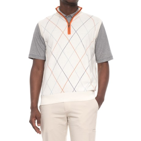 Image of Raker Golf Vest - Zip Neck (For Men)