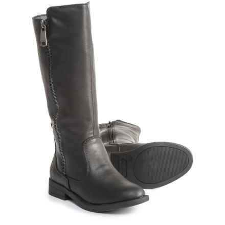 Rampage Mackenzie Boots - Vegan Leather (For Girls) in Black - Closeouts