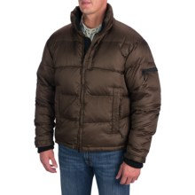 Rancho Estancia Down Puffy Bomber Jacket (For Men) in Copper - Closeouts