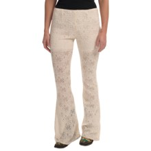 Rancho Estancia Lace Palazzo Pants (For Women) in Cream - Closeouts
