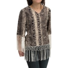 Rancho Estancia Reba Blouse - Short Sleeve (For Women) in Printed - Closeouts