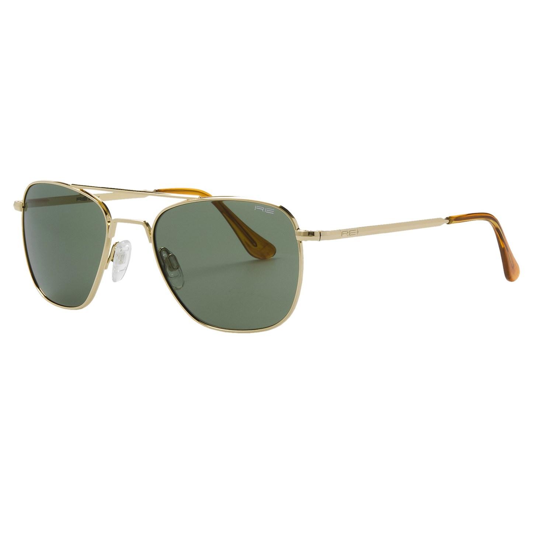 Randolph Aviator 52mm Sunglasses - Glass Lenses, 23K Gold ...