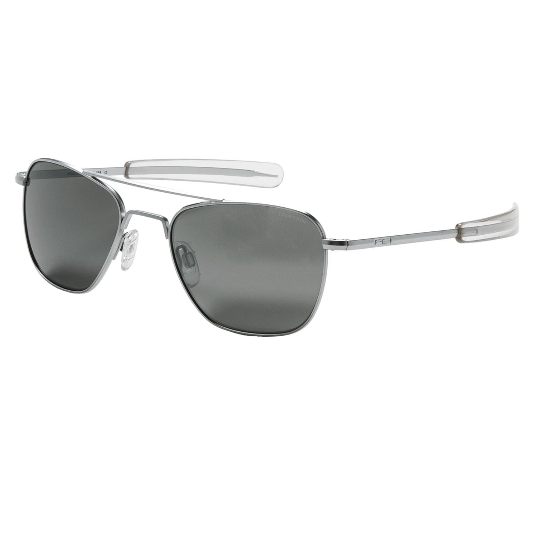 a6a1b84acd Randolph Aviator 52mm Sunglasses - Glass Mirror Lenses - Save 50%