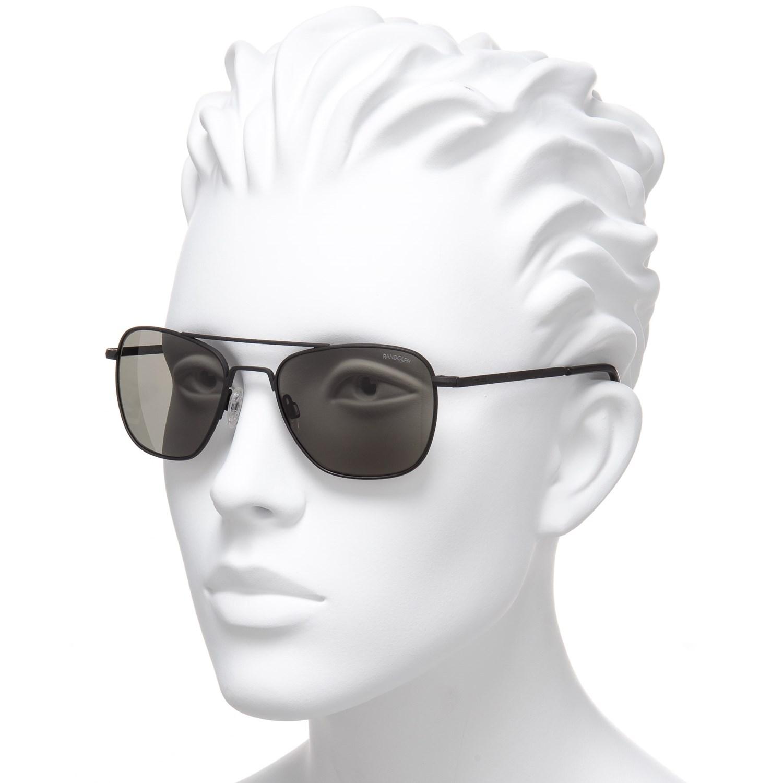 85f7aaa8e2 Randolph Aviator AF010 Sunglasses - Glass Lenses - Save 50%