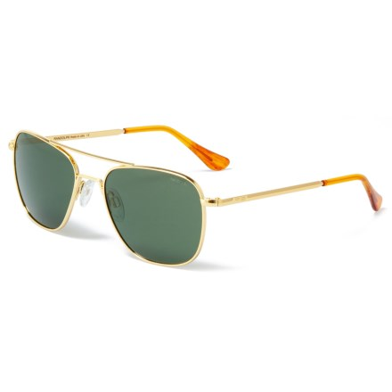 b81f1546bc56 Randolph Aviator AF051 Sunglasses - Glass Lenses (For Women) in Gold Agx