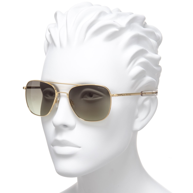 5159776cde Randolph Aviator AF164 Sunglasses - Glass Lenses - Save 50%