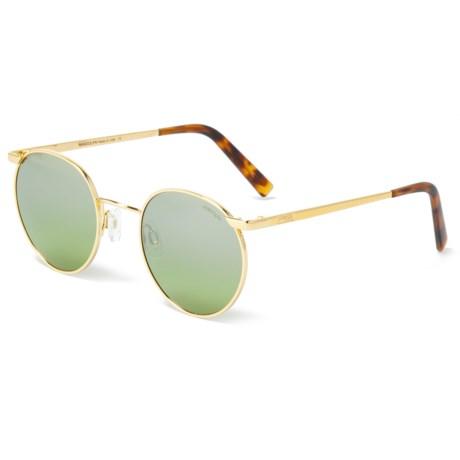 f642b3e83a4 Randolph P3 P3010 Sunglasses (For Women) in 23K Gold Green Gradient
