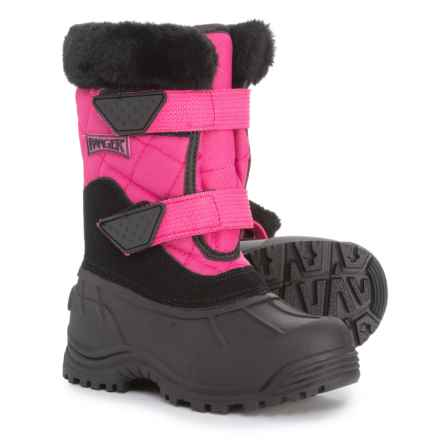 Ranger Pink Harley Pac Boots - Waterproof, Insulated (For Girls) in Pink - Closeouts