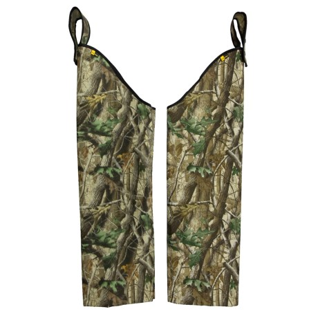Rattlers Original Snake Chaps - Cordura® Nylon (For Men) in Realtree Hardwood Green
