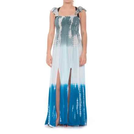 7adde9ed129dc Raviya Ruffle Tie-Dye Beach Cover-Up - Sleeveless (For Women) in