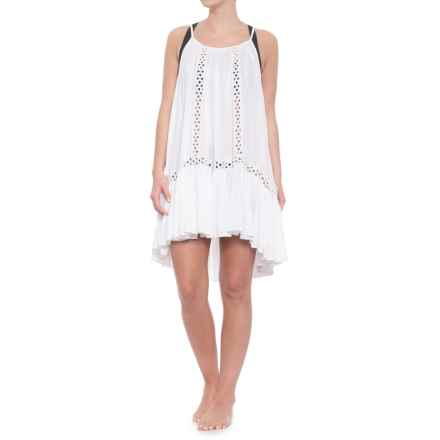 Raviya Thin Strap Cover-Up - Sleeveless (For Women) in White - Closeouts