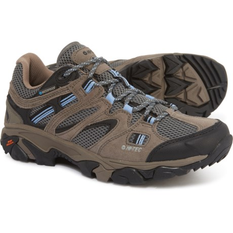 Ravus Vent Low Hiking Shoes - Waterproof (For Women) - WARM GREY/COOL GREY/BLUE MOON (8 )