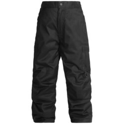 Rawik Board Dog Cargo Pants - Insulated (For Little and Big Kids) in Black