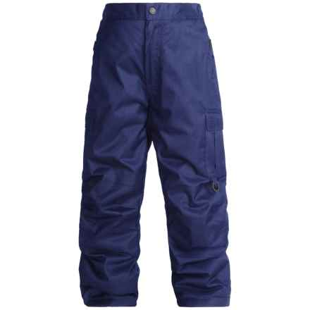 Rawik Board Dog Cargo Pants - Insulated (For Little and Big Kids) in Ink  Blue - Closeouts