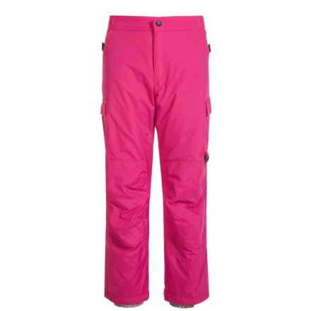Rawik Board Dog Cargo Pants - Insulated (For Little and Big Kids) in Pink Raspberry - Closeouts