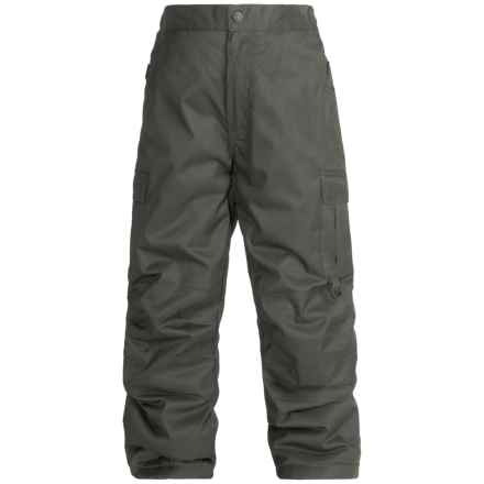 Rawik Board Dog Cargo Pants - Insulated (For Little and Big Kids) in Raven Gray - Closeouts